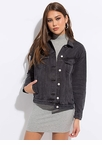 Keep Your Cool Button-Up Denim Jacket