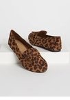 Knot So Simple Leopard Smoking Flats