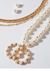 Pearls Like You Chain Necklace Set