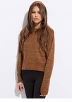 Sparkly Personality Streaky Knit Sweater