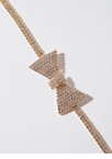 Special Event Jeweled Bow Ankle Bracelet