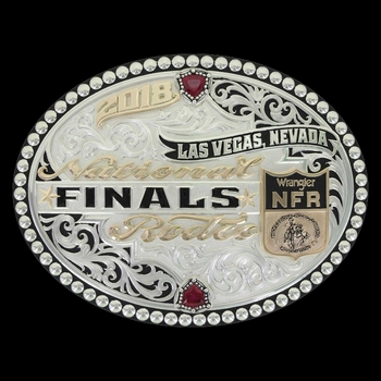 2018 Wrangler National Finals Rodeo limited edition Buckle