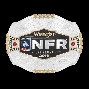 2019 WNFR Framed Logo Buckle