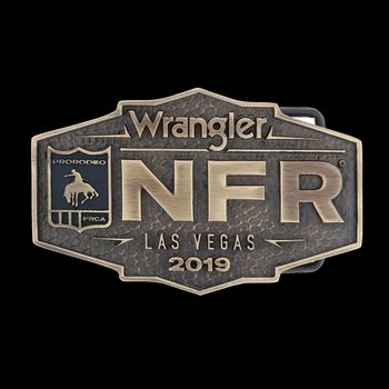 2019 WNFR Logo Heritage Buckle