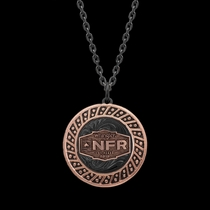 2019 WNFR Night Rose Necklace
