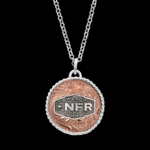 2019 WNFR Rose Concho Necklace
