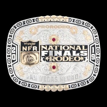 2019 Wrangler National Finals Rodeo Limited Edition Collector's Buckle