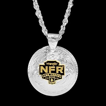 2020 Wrangler National Finals Rodeo Concho Necklace