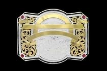 Bearcreek Golden Trophy Buckle