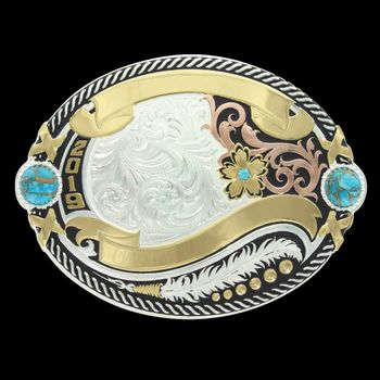 Glacier Pools Trophy Buckle