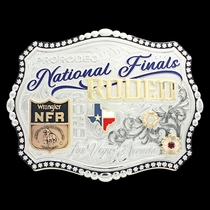 2020 Collector's Edition Wrangler National Finals Rodeo Buckle