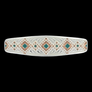 Two Tone Southwester Barrette
