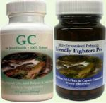 30 Day Supply of GC  GoutCare and Friendly Fighters Probiotics