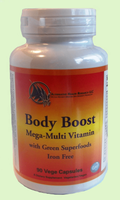 Body Boost Mega Multi-Vitamin with Green Superfoods