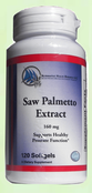 Saw Palmetto Extract - 120 softgels - 2 Month Supply