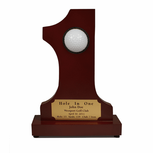 #1 Hole in One Trophy