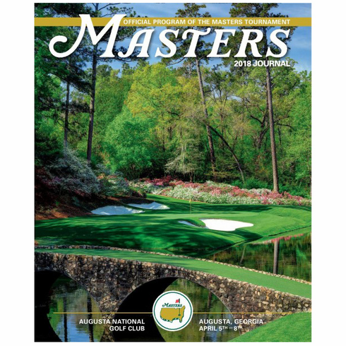 2018 Masters Journal - Collector's Edition