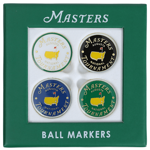 2019 Masters Assorted Ball Marker Set