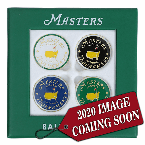 2020 Masters Assorted Ball Marker Set