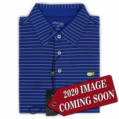 2020 Masters Navy Blue Tech Collection Shirt