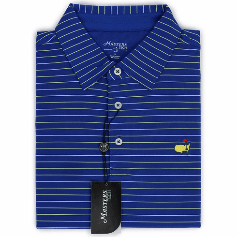 Masters Blue Stripe Tech Collection Shirt