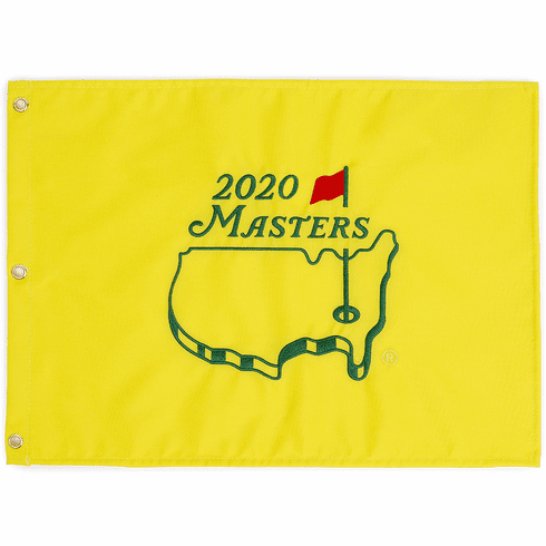 2020 Masters Tournament Souvenir  Pin Flag