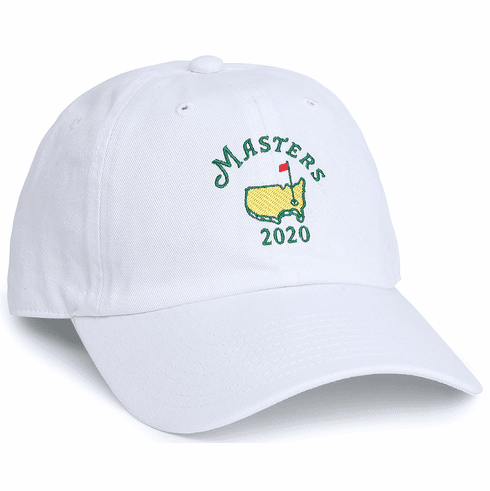 2020 White Masters Hat