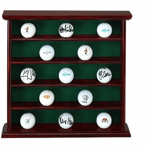 25 Golf Ball Collector's Cabinet