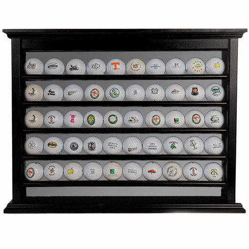 50 Golf Ball Display Rack - Black