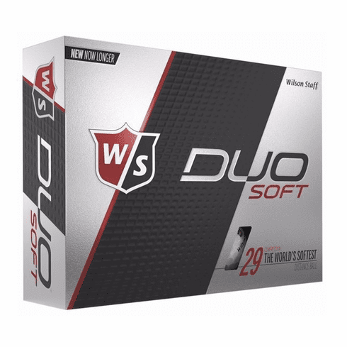 Custom Printed Wilson Staff Duo Soft Golf Balls
