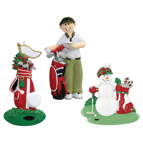 Golf Lovers Ornaments