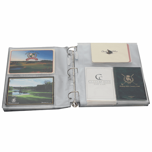 Golf Scorecard and Photo Album - Extra Pages