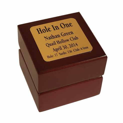 Hole-In-One Ball Display Box
