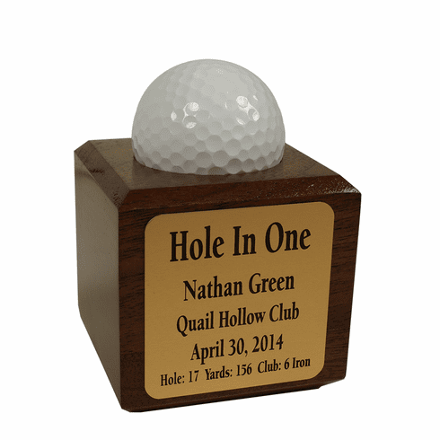 Hole-In-One Cube