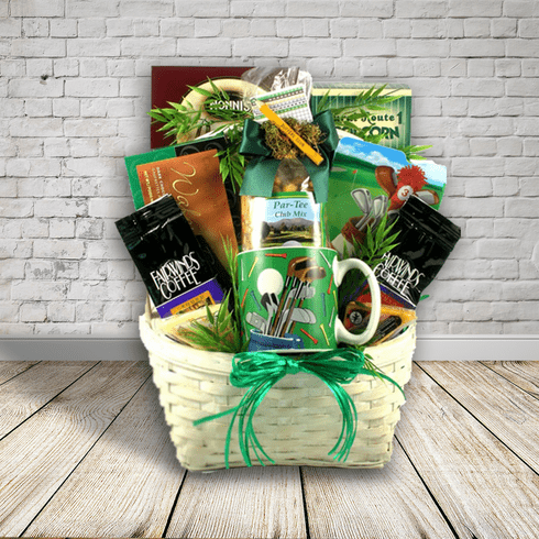 Hole In One, Golf Gift Basket