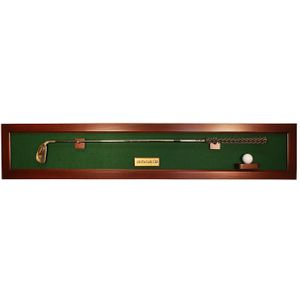 Horizontal Framed Club Display with Ball Mount