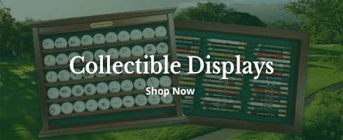 Golf Collectible Displays