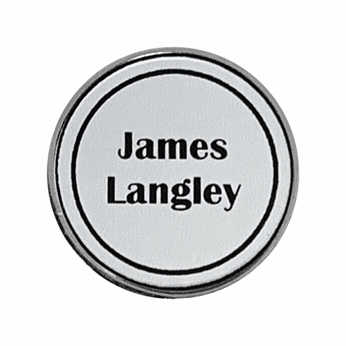 Individually Personalized Golf Ball Markers