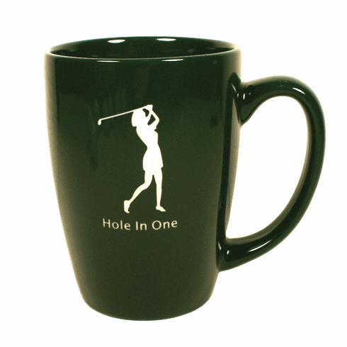 Lady Hole-In-One Cafe Mug
