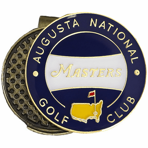 Masters Ball Marker Hat Clip