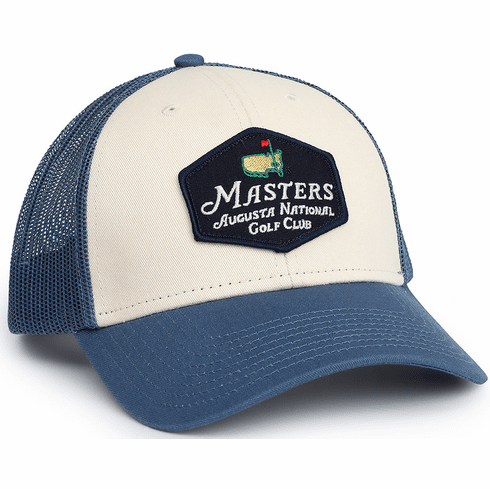 Masters Blue/Stone Truckers Hat