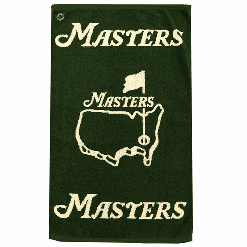 Masters Green Golf Towel