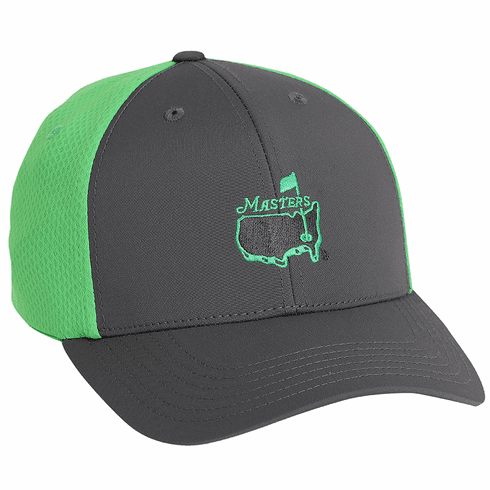 Masters Grey/Green Performance Hat