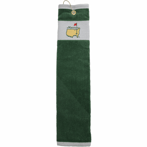 Masters Tournament Green Trifold Towel
