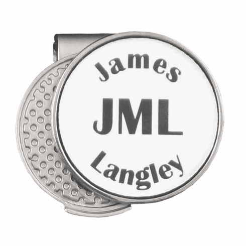 Personalized Hat Clip Ball Marker