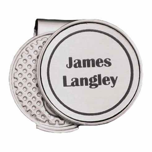 Personalized Hat Clip Golf Ball Marker