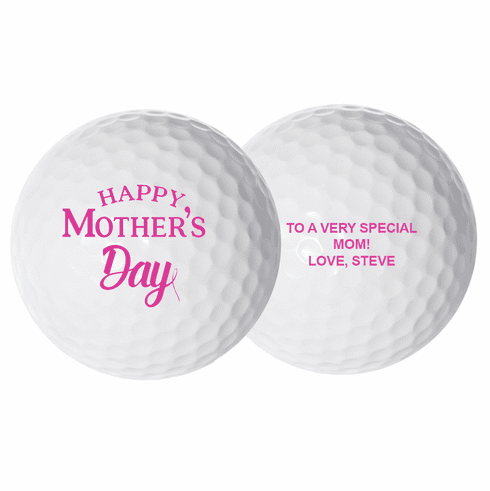 Personalized Mother's Day Golf Balls