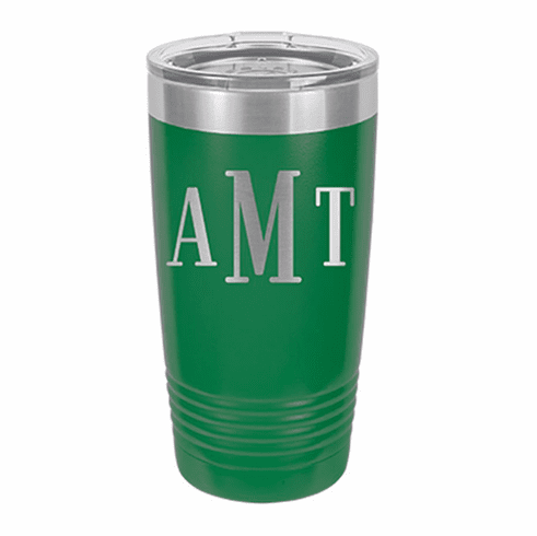 Personalized Stainless Steel 20oz Colored Tumbler