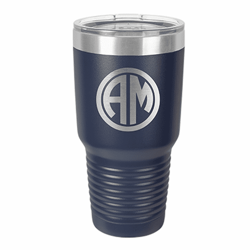 Personalized Stainless Steel 30oz Colored Tumbler