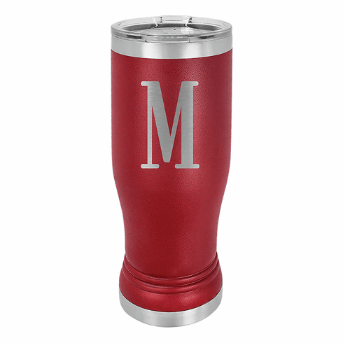 Personalized Stainless Steel Colored Pilsner Tumbler